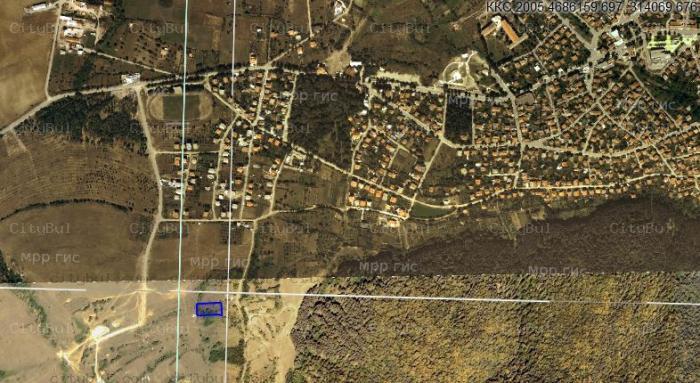Ситибул For sale field in area of Kyustendil, city of Sapareva banya